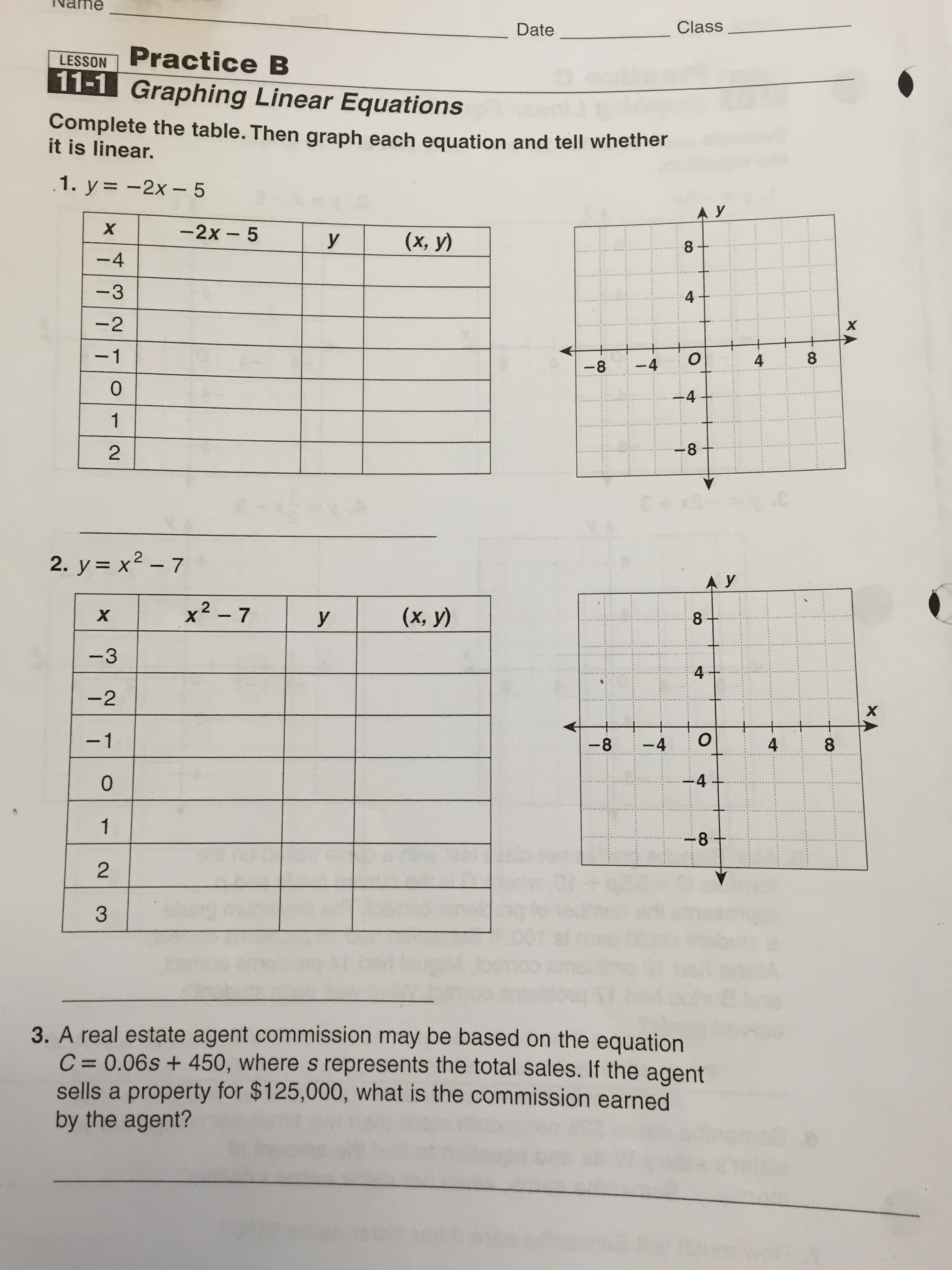 Worksheets For Pennsylvania : Th grade pssa math practice worksheets